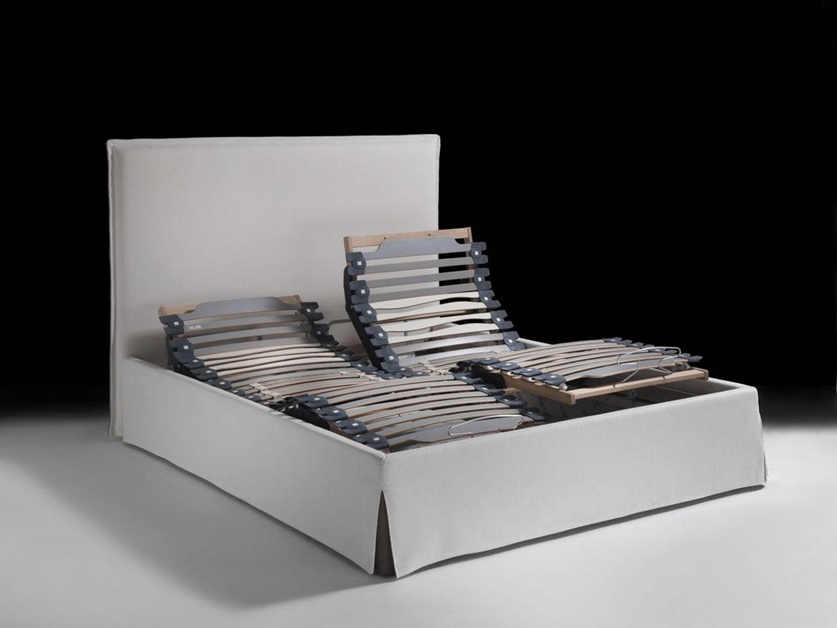 letto contenitore, reti motorizzate - Rovedaflex