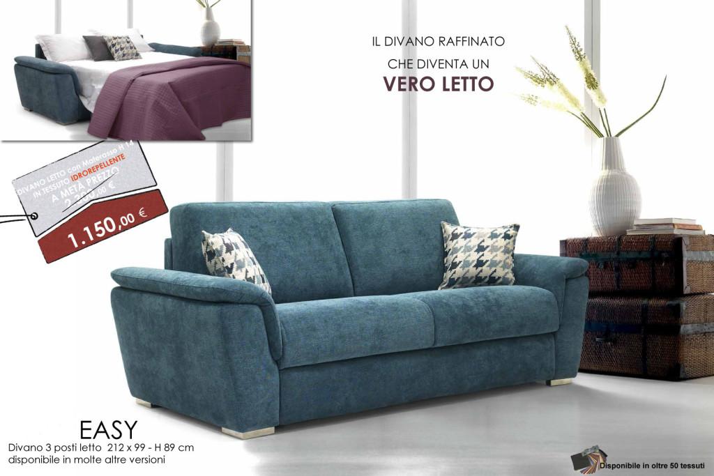 Promozione divani letto rovedaflex