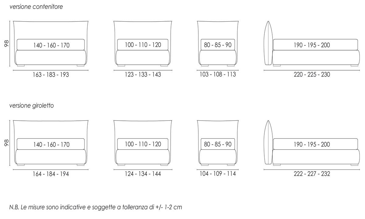 Dimensioni Materassi ~ Idées de Design D\'intérieur